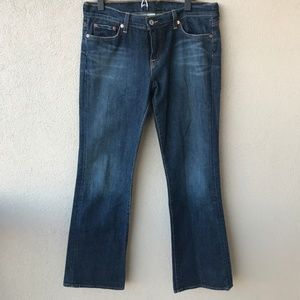 Lucky Brand Sundown Wide Leg Jeans